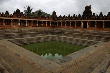 Bhoga Nandeeswara temple Tank,Bangalore.