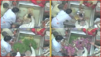 Modi Prays to Kashi Vishwanath