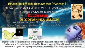 Secret Society of the Nine Unknown Men of ASHOKA