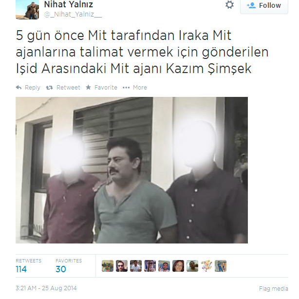Turkish militant in ISIS