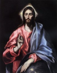 Jesus by El Greco