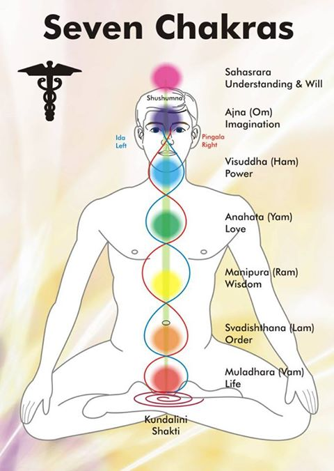 SEVEN CHAKRAS AND SEVEN RISHISI-SECRET RIG VEDA SUTRAS