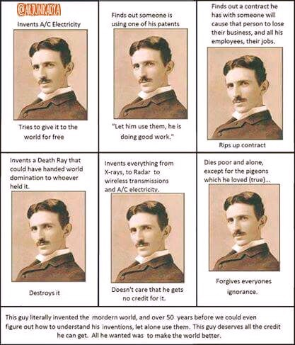 Tesla and Vedic Philosophy