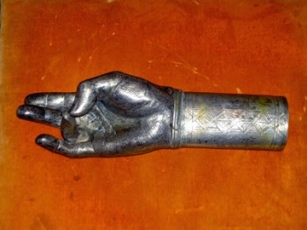 Artifact from Church of St. Paul and St. Peter of Tomarza dated to 1570, in Turkey (a part of the ancient Armenian Civilization) is titled as the 'hand of God' it is evident that this is a 'Yogic Hand Mudra',