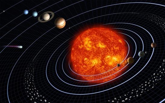 solar system-
